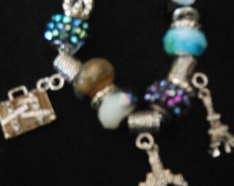 Gorgeous Travel Charm Bracelet-- SALE