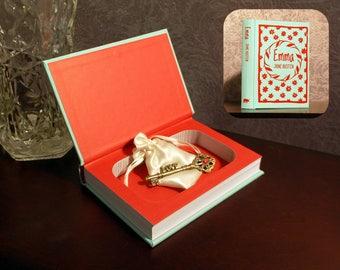 Hollow Book Safe - Emma Pocket Size - Secret Book Safe