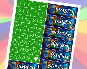 State County Fair Photo Date Covers Planner Stickers Vertical Student - Stick to Your Story