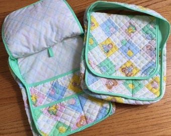 Vintage 1980s Doll Accessory / Cabbage Patch Kids Diaper Bag 1983 VGC Sold Separately