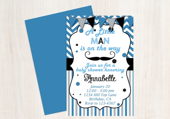 Mustache baby shower little man baby shower mustache invitation il570xn filmwisefo