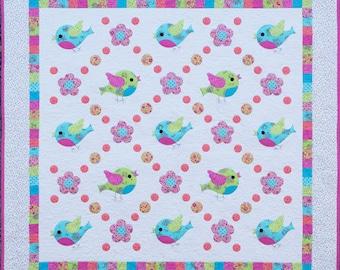 Chirp Quilt Pattern