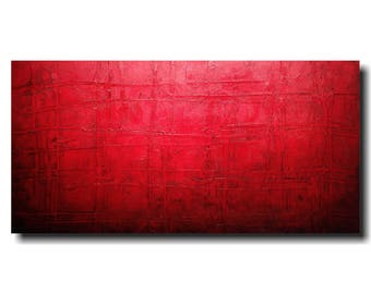 Industrial Art Large abstract painting- 24 X 48  JMJartstudio- Sinful -Wall art-wall decor - painting--custom wall art