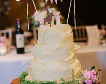 Banner Cake Topper Etsy