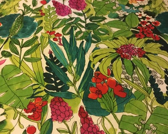 Tropical Fabric upholstery barkcloth
