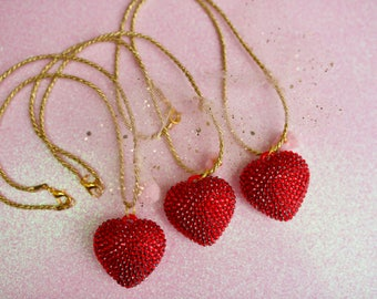 Valentines day charm necklace