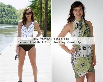 Bikini Set - One Piece Swimsuit - Beach Kaftan - Beach Dress - Plus Size Swimwear - High Cut Swimsuit - Beach Cover Up - Festival Swimsuit
