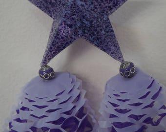 One Ready To Ship, 6 x 12 inches Miniature Filipino Paper Christmas Lantern AKA Parol - Christmas Tree Ornaments