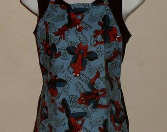 Spiderman Child's Apron, multiple sizes