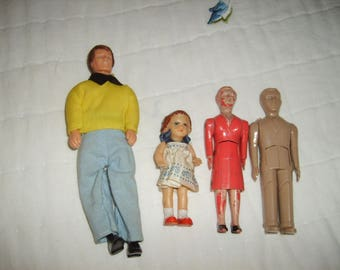 Vintage Dollhouse People
