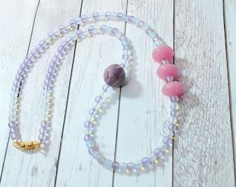 Sweet Leliana Necklace - moonstone, preppy jewelry, classic