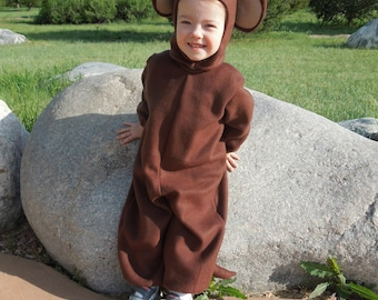 Monkey Costume for Toddler and Child