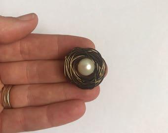Nest - Antique Brass - 1