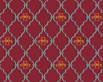 Iowa State University from Sykel Enterprises - Full or Half Yard ISU Cotton