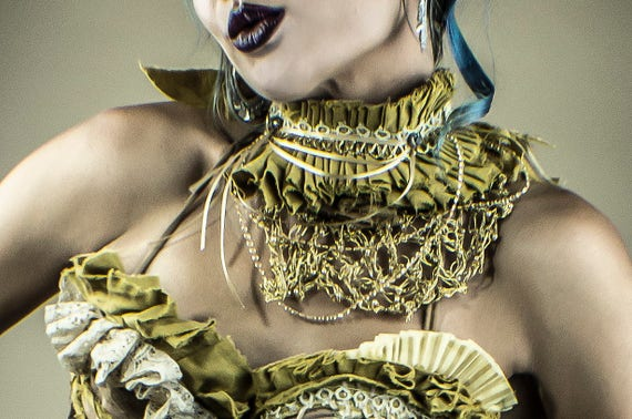 Gold Fancy Circus Collar