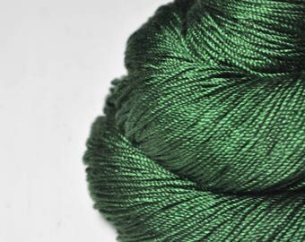 St. Patrick's day parade gone awry -  Cordonnette Silk Fingering Yarn