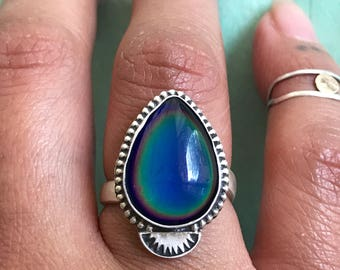 Pear mood ring