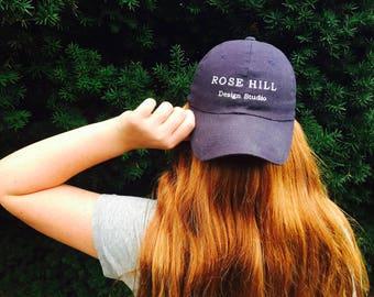 Rose Hill Design Studio Embroidered Baseball Caps - Create a Life You Love