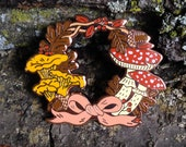 Autumn Wreath Hard Enamel Pin