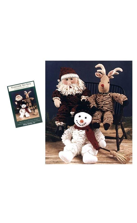 Yo Yo Schnittmuster Muster Santa Puppe 14 Zoll Rentier Puppe