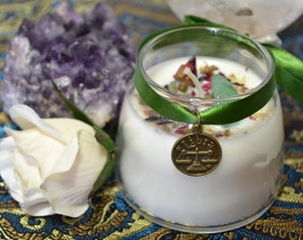 LIBRA Astrological Soy Zodiac Candle