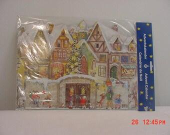 Vintage Old New Stock Western Germany Advent Calendar In Original Packaging  17 - 1056