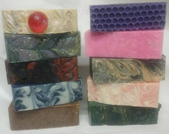 SOAP Of The  MONTH CLUB - Each Month Receive One or Two Bars or a Variety of Samples! Choose Your Club Membership
