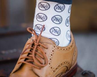 Wedding Socks Gift for Groom Cold Feet Socks for Wedding Gift from Bride Men's Wedding Accessory Gift (Item - CFS700)