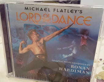 Michael Flatley - Lord of the Dance - Vintage CD - Celtic Music and Dance - 1996