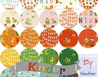 PREORDER Fat quarter bundle of Kinder by Heather Ross for Windham fabrics- 23 pieces Presale