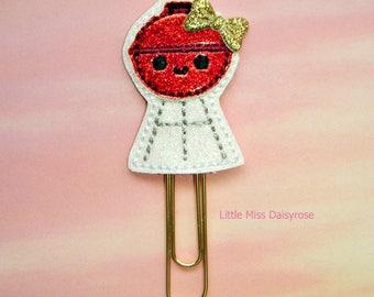 Bbq Grill Cutie Glitter Planner Clip Paperclip