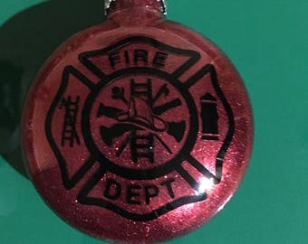 Fire Logo Ornament