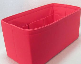 Ready to Ship ..Neverfull GM (14.5x7x7)...Cherry Red.... Purse Insert ORGANIZER . . Strong and Durable -  #A6