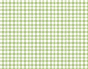 Bake Sale 2 Green Gingham by Lori Holt of Bee in My Bonnet for Riley Blake, 1/2 yard