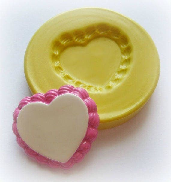 Dollhouse Cake Stand Mold Cake Tart Base Frosting Heart