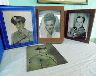 Movie Star. HOLLYWOOD. celebrity. PHOTOS. WW2 Era. 1940s. Clark Gable. Jimmy Stewart. Bob Hope. Gloria Stuart. Stage prop. Set Decoration