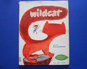 Wildcat, a Vintage Children's Book, 1951
