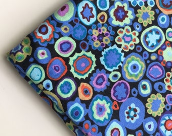 Kaffe Fassett Paperweight Cobalt Blue Fabric, GP20, OOP, HTF, Fat Quarter