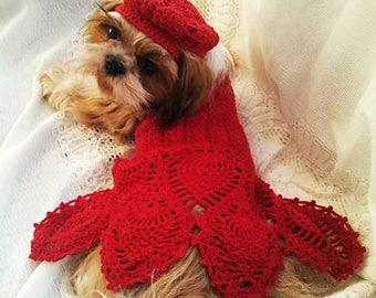 Ravishing Red Dog Dress (in progress)