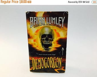 SUMMER BLOWOUT Vintage Horror Book Demogorgon by Brian Lumley 1992 First Edition Paperback