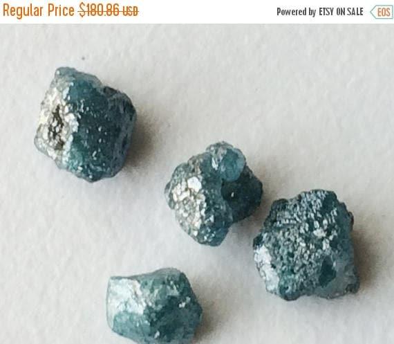 on sale 55 blue diamond blue raw diamond crystal