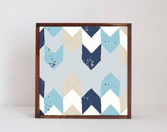 boho nursery art, geometric nursery art- baby boy nursery art- arrows- geometric prints,  woodland nursery- kids playroom-  redtilestudio