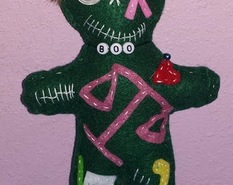 Legal Lawyer whimsical Voodoo dolls Doo Dolls TM Specialty Handmade Designs
