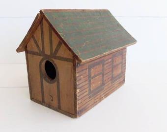 Vintage Birdhouse, Cloverleaf Ice Cream, Log Cabin