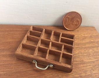 Miniature typography drawer