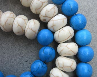 African Turquoise Sone Beads