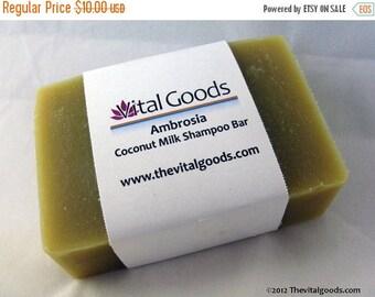 ON SALE Ambrosia Coconut Milk Dreadlocks Shampoo Bar 4oz (VEGAN)