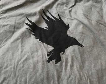 Men's Raven Tee - Gray - Medium