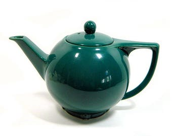 Hall Round Star Teapot Teal Spruce Green