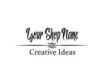 Premade Shop or Photo Logo by SpunkyDiva